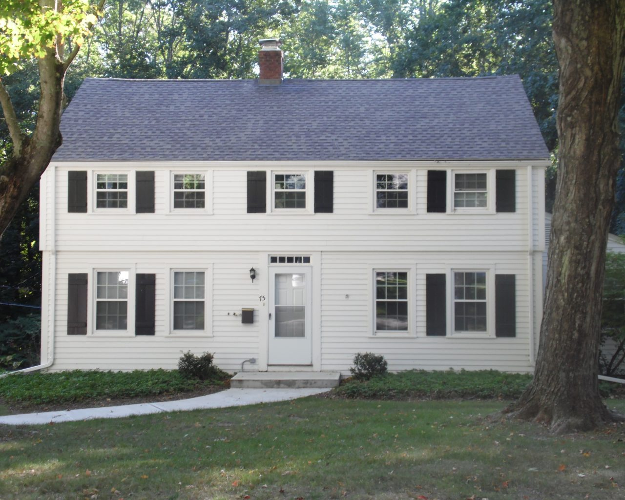 House 55 Front Elevation
