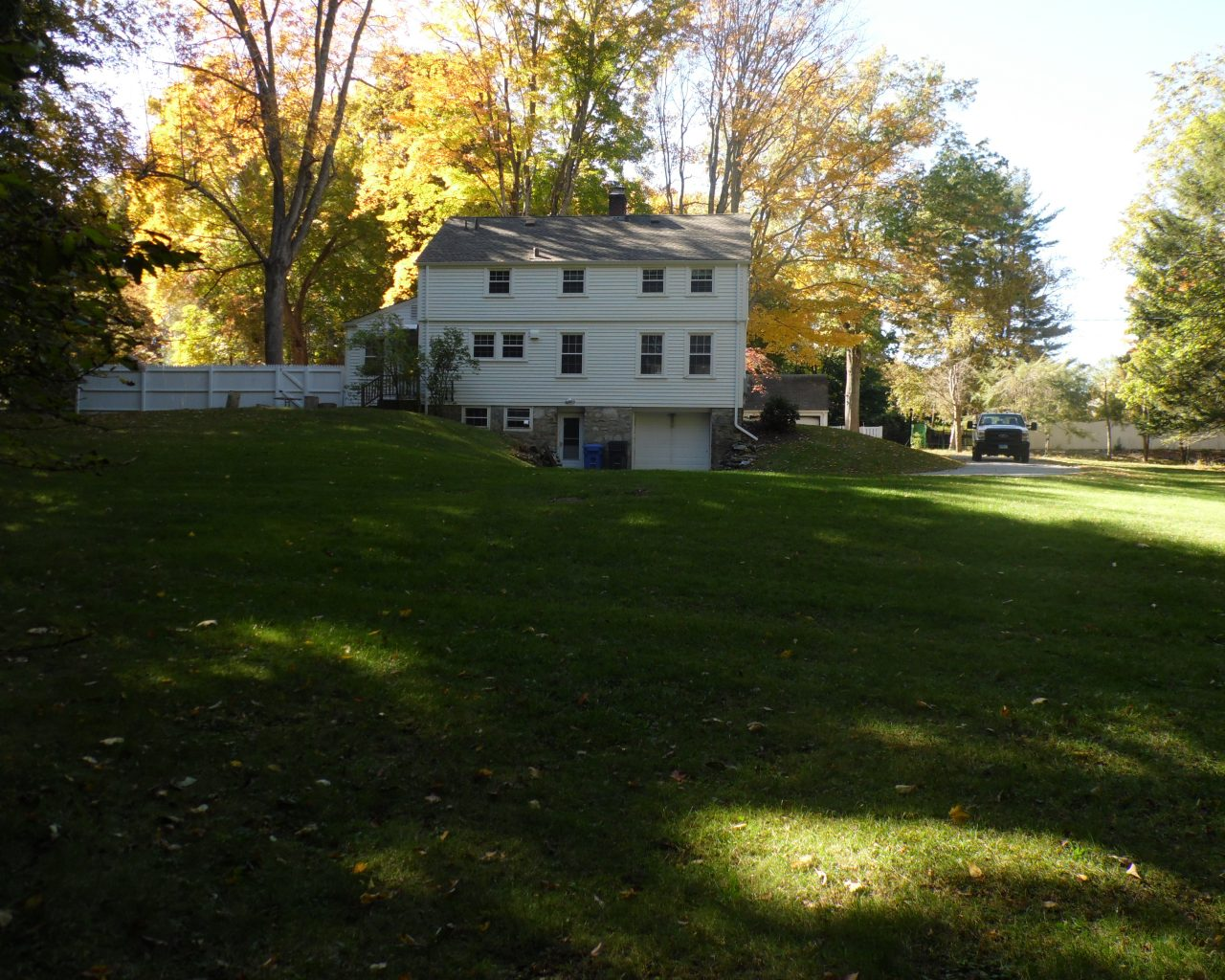 House 55 Backyard